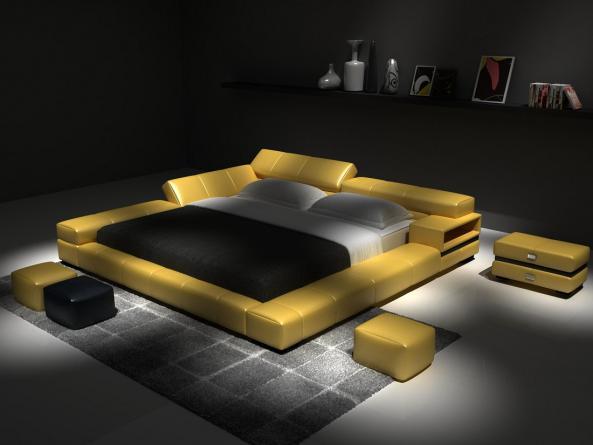 Meubles lit d524 montr al lits lit d524 meubles for Lit design montreal