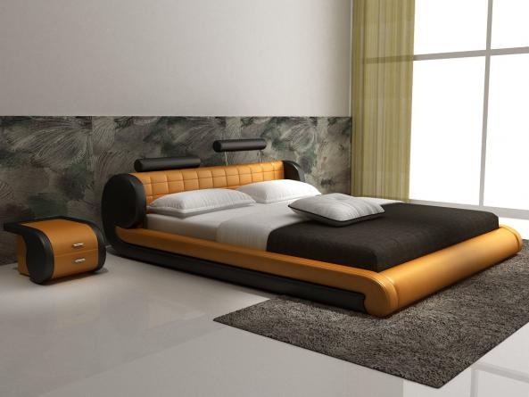 Meubles lit d545 montr al lits lit d545 meubles for Lit design montreal