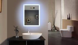 Mirroir Led rectangle