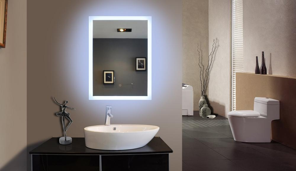 Meubles backlit montr al miroir led backlit meubles for Miroir montreal