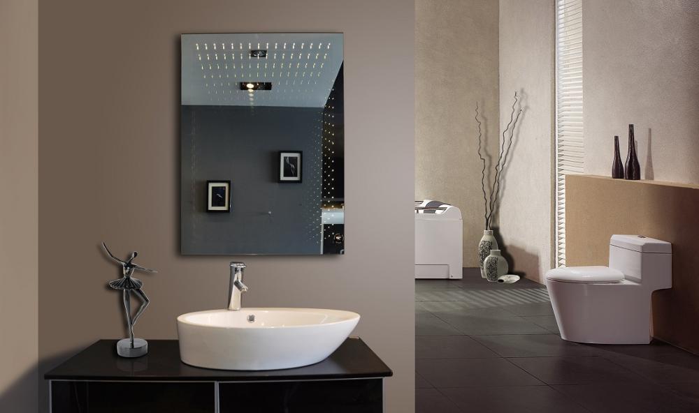 Meubles miroir led infinit en d mo montr al miroir led for Miroir salle de bain montreal