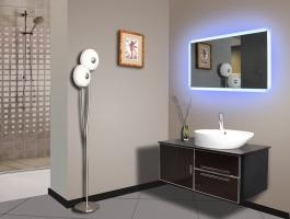 Miroir led rectangle 100 x 60 cm - Rupture de stock