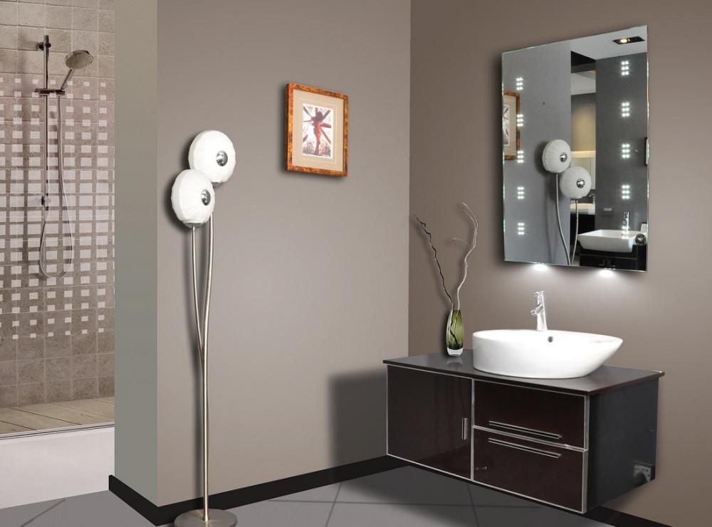 Meubles miroir led luna 60 x 80 cm en d mo montr al for Miroir miroir montreal