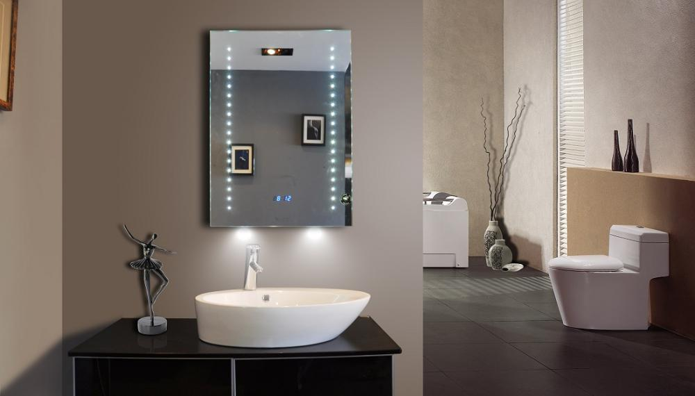 Meubles sparkle en d mo montr al miroir led sparkle for Miroir montreal