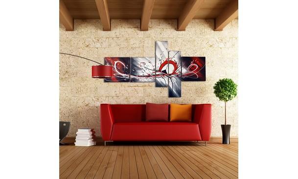 Meubles tableau a l 39 huile 414 montr al tableaux a l for Brick meuble montreal