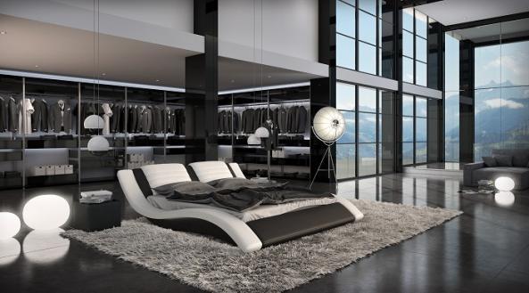 Meubles lit j222 montr al lits lit j222 meubles for Lit design montreal