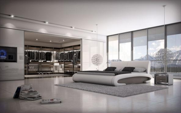 Meubles lit j220 montr al lits lit j220 meubles for Lit design montreal