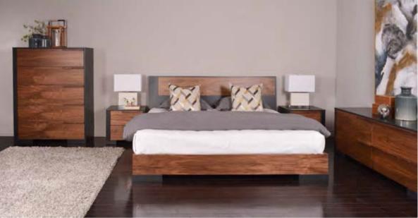Meubles dldphil montr al lit bois dldphil meubles for Lit design montreal