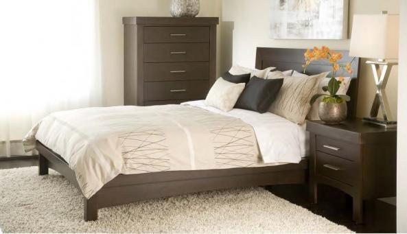 Meubles dldviv montr al lit bois dldviv meubles for Lit design montreal
