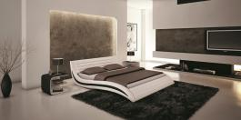 BED J213 WHITE QUEEN