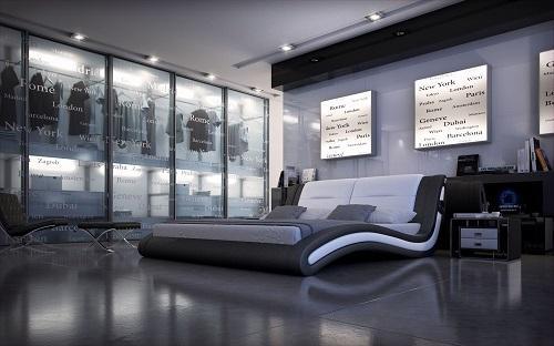 Meubles lit j216 montr al lits lit j216 meubles for Lit design montreal