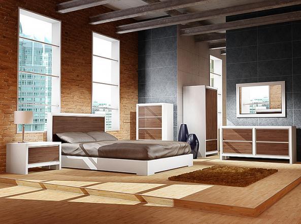 Meubles aur860 montr al lit bois aur860 meubles for Lit design montreal